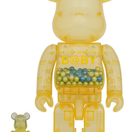 MEDICOM TOY - MY FIRST BE@RBRICK B@BY INNERSECT 2020 100% & 400%