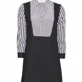 Marni Edition - Marni Edition - DRESS WITH STRIPED SLEEVES - mytheresa.com GmbH