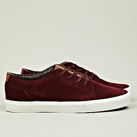VANS - 106 Vulcanized CA in Burgundy