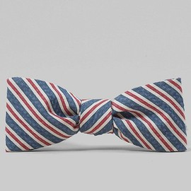 BLACK FLEECE BY Brooks Brothers - Stripe Bow Tie