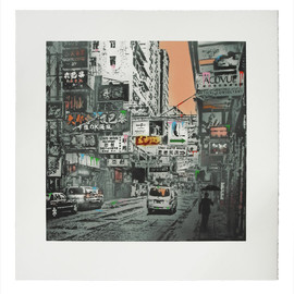 Nick Walker - 'Basking In The Glory' - Hong Kong Street Scene #1