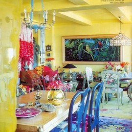 Betsey Johnson`s apartment