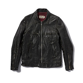 assemble a.k.a. AFFA - DAMAGE LEATHER RIDERS JACKET