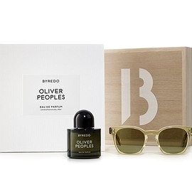 OLIVER PEOPLES AND BYREDO - Sunglasses and Eau de toilette
