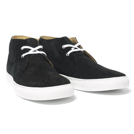 Comme des Garcons  - x The Generic Man Suede Chukka Black