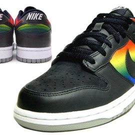 NIKE SB - DUNK LOW DARK OBISIDIAN/VARSITY ROYAL RAINBOW EDITION