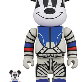 MEDICOM TOY - BE@RBRICK BILLIONAIRE BOYS CLUB MICKEY MOUSE 100% & 400%