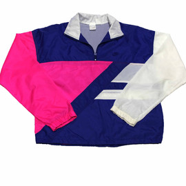 Nike - Vintage 90s Nike Pink/White/Blue Windrunner Jacket Mens Size Medium