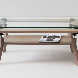 Clamp Coffee Table - Nonlinear Studios