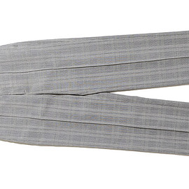 AURALEE - Summer Wool Glen Check Slacks-Glen Check