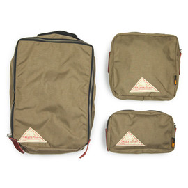 Beams Plus x Kelty - Beige Three Piece Bag Set