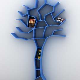 Roberto Corazza - Tree Bookcase