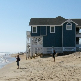 this is one of the proposed houses to be removed for the dune project , so sad