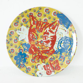 Nathalie LETE - CHAT plate
