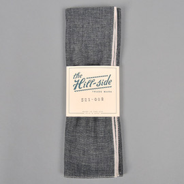 The HILL-SIDE - Selvedge Chambray Bandana, Black