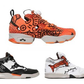 Reebok - KEITH HARING × REEBOK CRACK IS WACK PACK