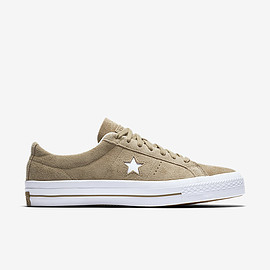 CONVERSE - CONVERSE CONS ONE STAR SUEDE LOW TOP