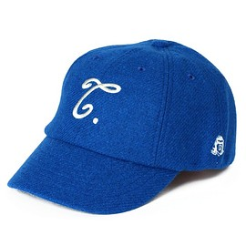 TACOMA FUJI RECORDS - T WOOL CAP designed by Shuntaro Watanabe (blue)