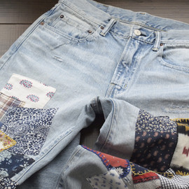 BLUEBLUE - PP5 HAND MAKE JEANS