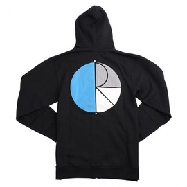 Polar Skate Co. - FILL LOGO ZIP HOODY