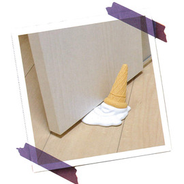 entrex - Melting Icecream Door Stopper