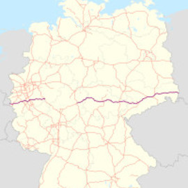 Autobahn Germany - A4