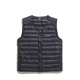 mont-bell - Men's Superior Down V Neck Vest-Black