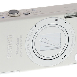 Canon - PowerShot ELPH 530 HS 10.1 MP Wi-Fi CMOS 28mm Compact Digital Camera [White]