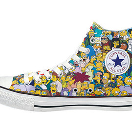 The Simpsons x Converse - Spring 2014 Collection