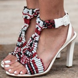 Chloé - Chloé shoes at Street Style at Spring 2014 Fashion Week