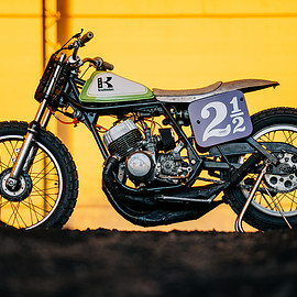 KAWASAKI - H1 flat tracker by Krautmotors
