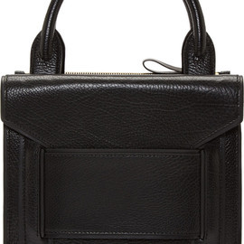 Pierre Hardy - Black Structured Tote Bag