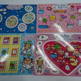 Tamagotchi - angel tamagotchi stickers