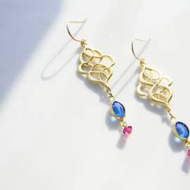 Ostara - 14kgf Filigree Earrings