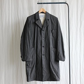 YAECA - Atelier Coat #black