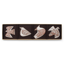 BIRDS' WORDS - 「BIRD TILE」E・F・G・H / 4pcs set