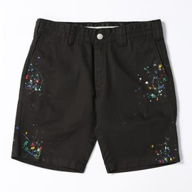 NUMBER (N)INE - n(n) BY NUMBER (N)INE(エヌエヌ バイ ナンバーナイン)のn(n) BY NUMBER (N)INE x DICKIES_SHORT PANTS DRIP(パンツ)|ブラック