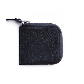 bal - BAL/PORTER® THIN LEATHER Coin Case (charcoal)