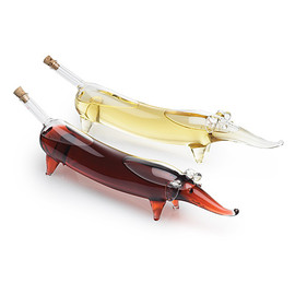 UncommonGoods - WIENER DOG OIL AND VINEGAR SET