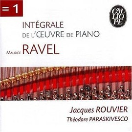 Jacques Rouvier / Theodore Paraskivesco - Ravel: Works for Piano