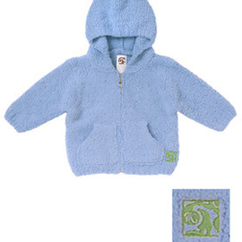kashwere - BABY HOODED JACKET