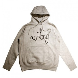 dertbag - Heather Grey Connect Pullover