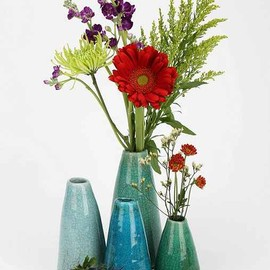 urban outfitters - Ceramic Vase - Set Of 4