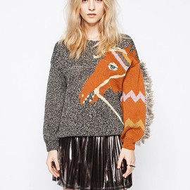 pixie market - Goldie-pony-sweater