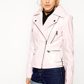 ASOS Biker Jacket in High Shine