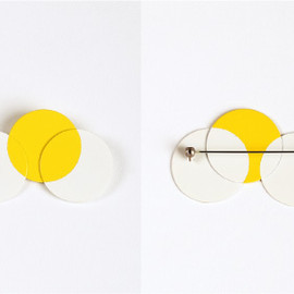 Marc Monzó - Double and Triple/brooch/2006/