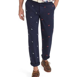 Brooks Brothers - Clark Four-Panel Embroidered Pants