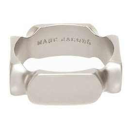 MARC BY MARC JACOBS - MARC JACOBS マークジェイコブス Square Ring リング 指輪 SILVER