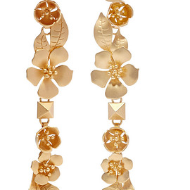 VALENTINO - Gold-tone earrings