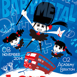 BABYMETAL - LONDON ONCE AGAIN !